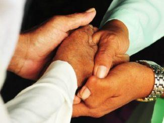 Lebaran Handshake